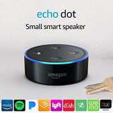 Koncpt U:Echo Dot (2nd Generation) - Smart speaker with Alexa - Black, Koncpt U