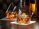 Koncpt U:Rocker Whiskey Glasses, Scotch Glasses - Set of 2., Koncpt U