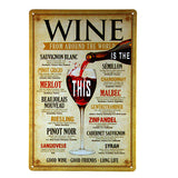 Koncpt U:Wine/beer vintage metal signs, Koncpt U
