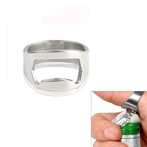 Koncpt U:Finger Ring Beer Bottle Opener, Koncpt U