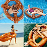Koncpt U:Pretzel Swimming Ring Clircle Pool Float, Koncpt U