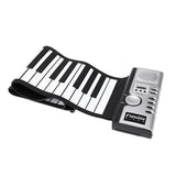 Koncpt U:Flexible Roll Up Electronic Soft Keyboard Piano Portable 61 Keys, Koncpt U