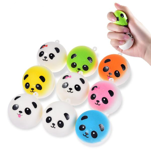 Squishy  balle antistress panda détente relaxation méditation zen article bien-être  antistress