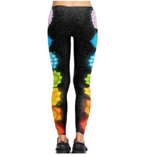 Legging de yoga 7 chakras gainage remise en forme maigrir raffermir fitness yoga gym abdo Pilates bien-être détente