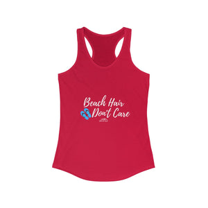 Shores East Beach Hair Don't Care Racerback Tank