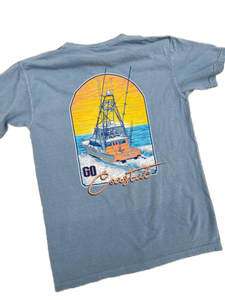 Shores East Go Coastal Short Sleeve Tee
