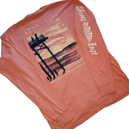 Shores East Seas Life Long Sleeve Tee