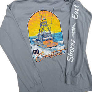 Shores East Go Coastal Long-sleeve Tee