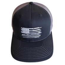 Shores East Tattered American Flag Hat