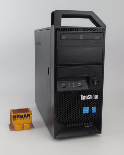Lenovo ThinkStation E32 Mini-Tower i7-4770 3.4GHz 32GB RAM 1TB Hard Drive Win 10 Pro