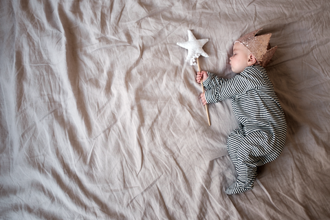 Sleepy Doe Pyjamas, Fable Heart Crown and Wand - Fable Heart Blog - Helen Bowman