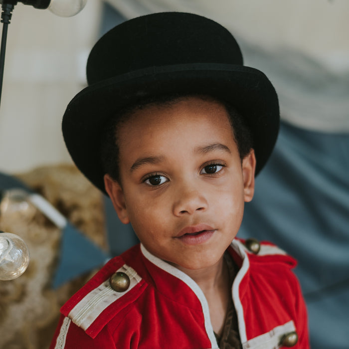 5 year-old weraing Fable Heart Ringmaster Top Hat £50