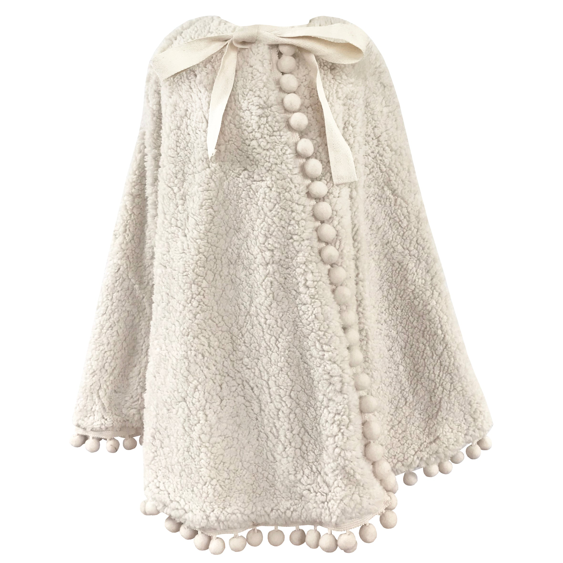 Fable Heart Lana Pom Pom Cape front