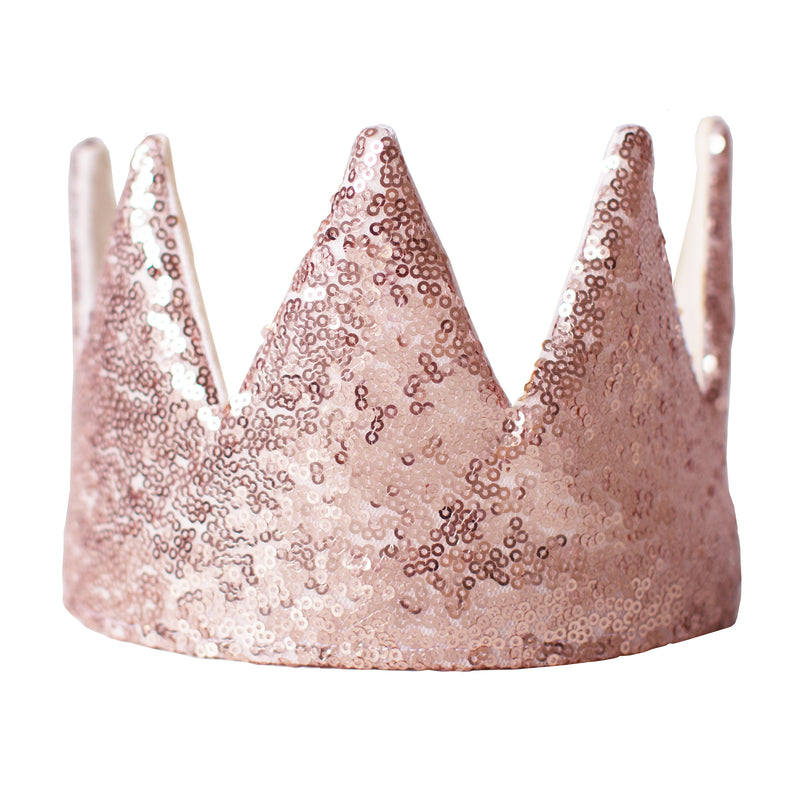 Fable Heart Rose Gold Crown, the ultimate princess/prince accessory.