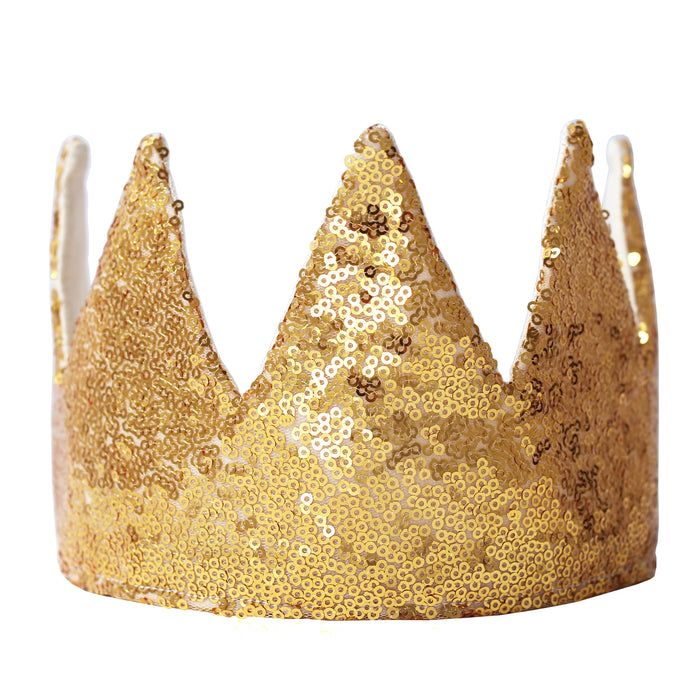 Fable Heart Kings Gold Crown - the super sparkly regal choice