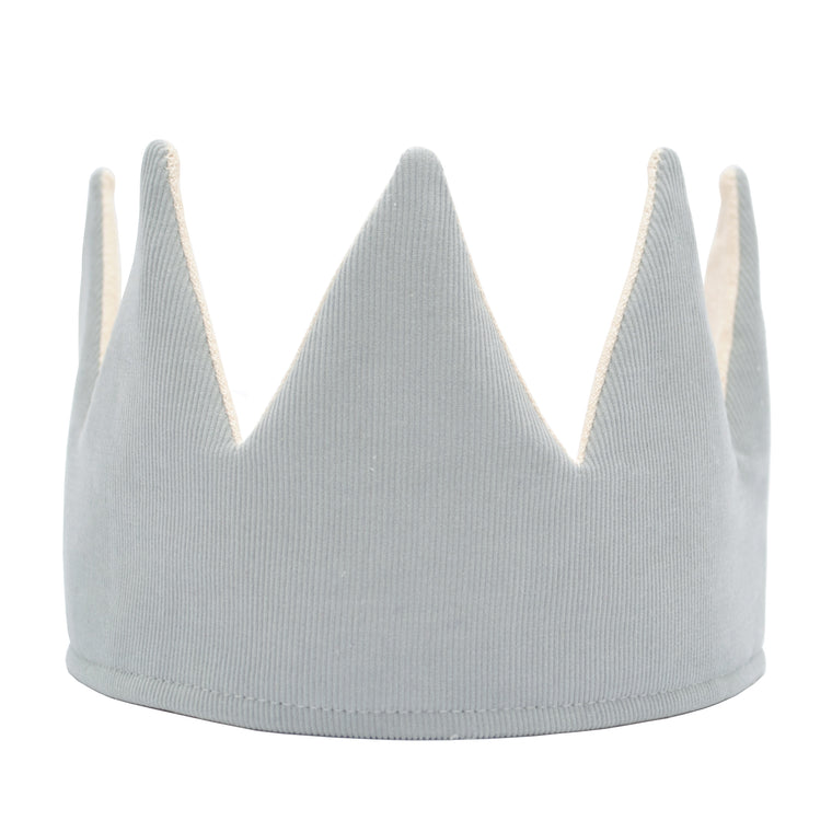 Grey Corduroy Crown