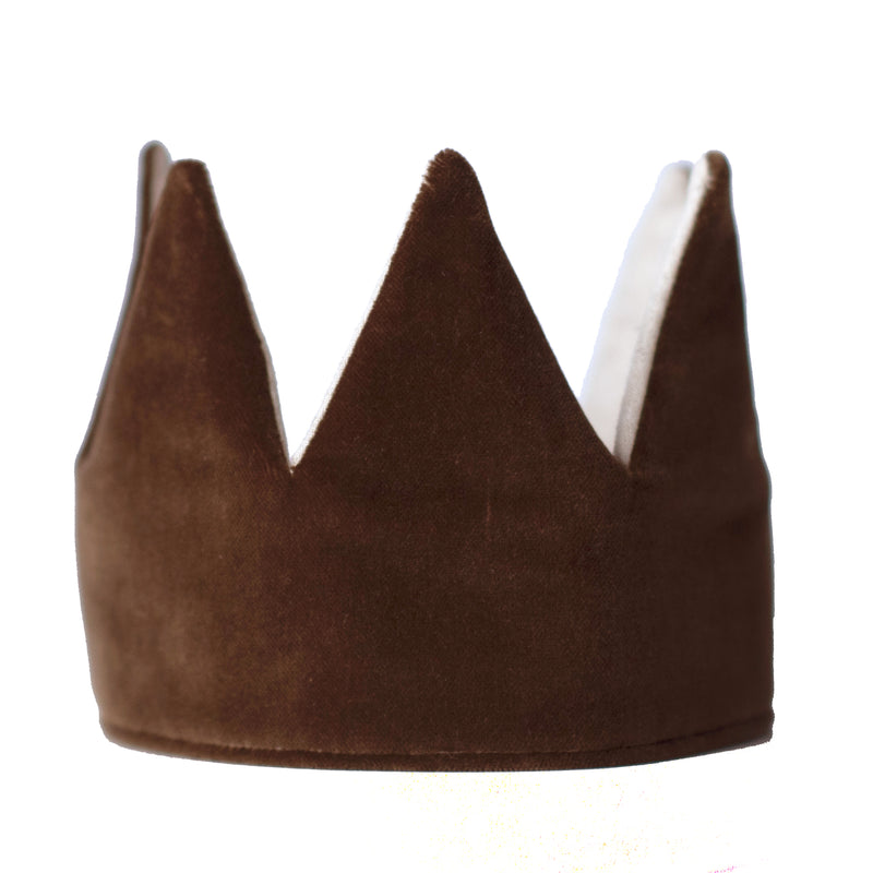 Fable Heart Caramel Velvet Crown