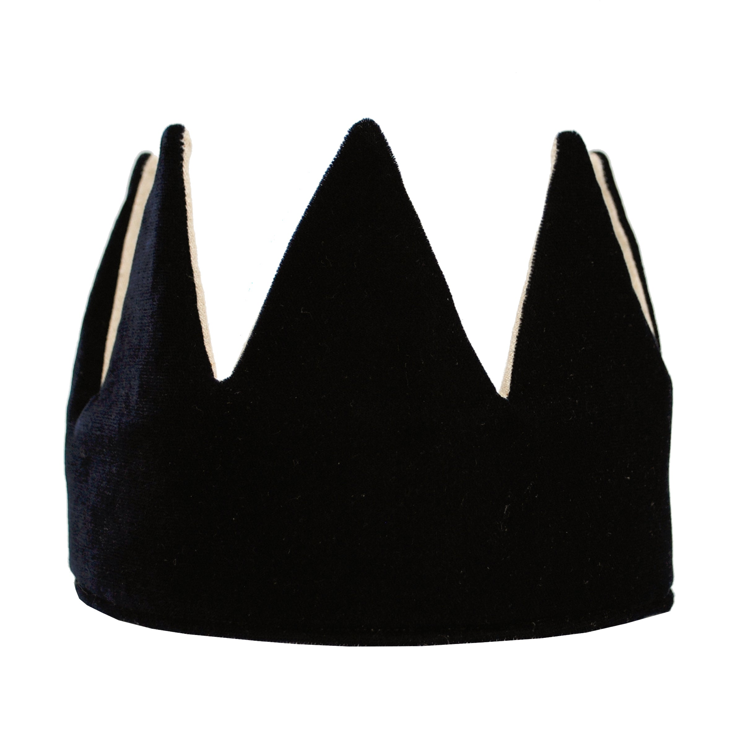 Fable Heart Black Velvet Crown