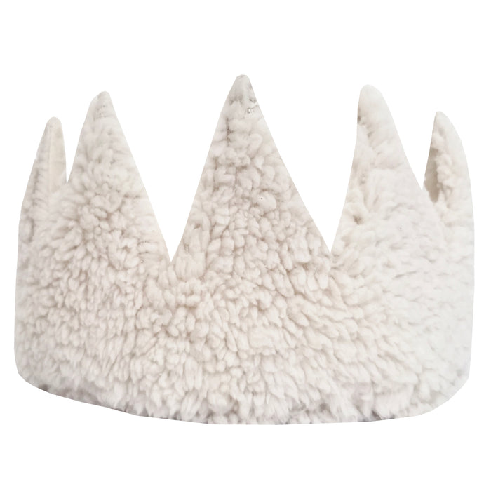 Fable Heart Lana Crown £25 - A gorgeously soft crown, made with faux sheep fleece
