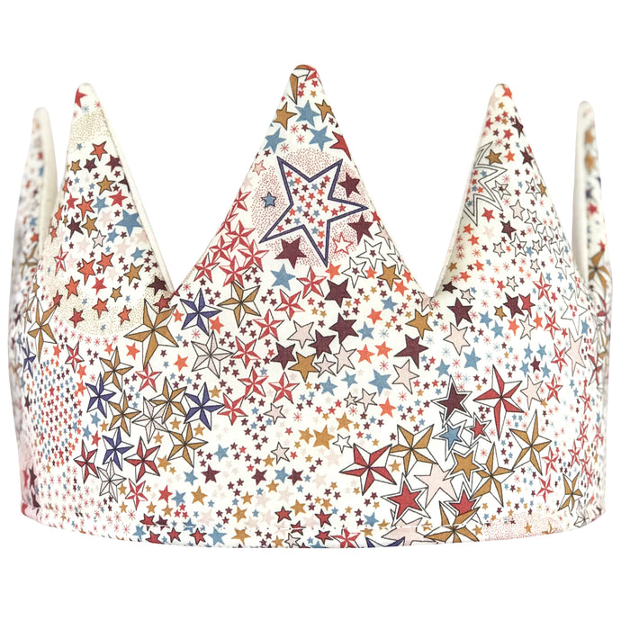 Fable Heart Adelajda Crown £25 - Liberty print front with natural cotton backing