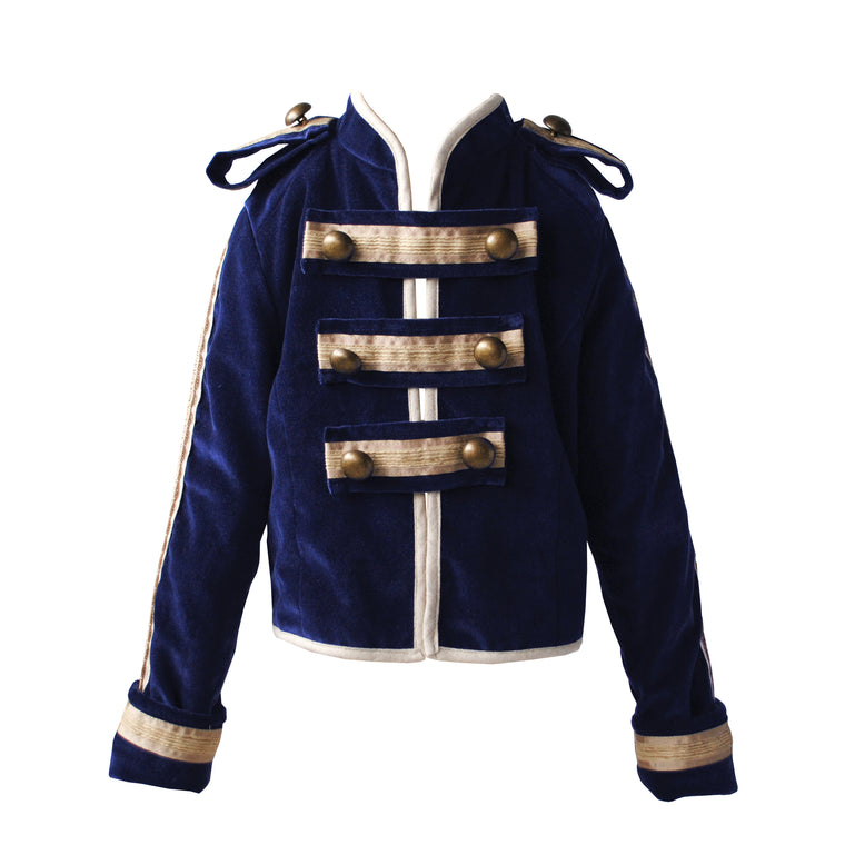 Fable Heart Navy Velvet Toy Soldier Three Piece Suit lifestyle image 4