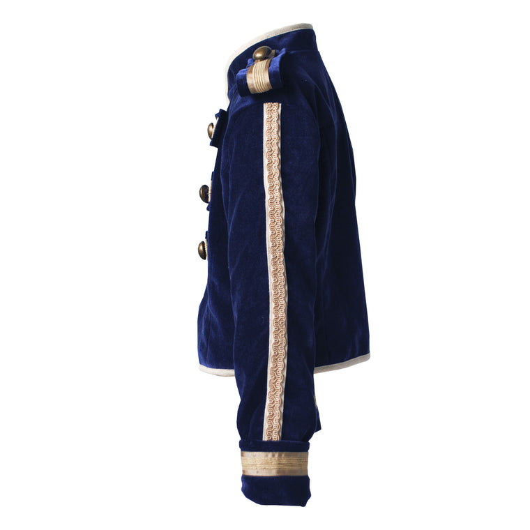 Fable Heart Navy Velvet Toy Soldier Jacket lifestyle image 1