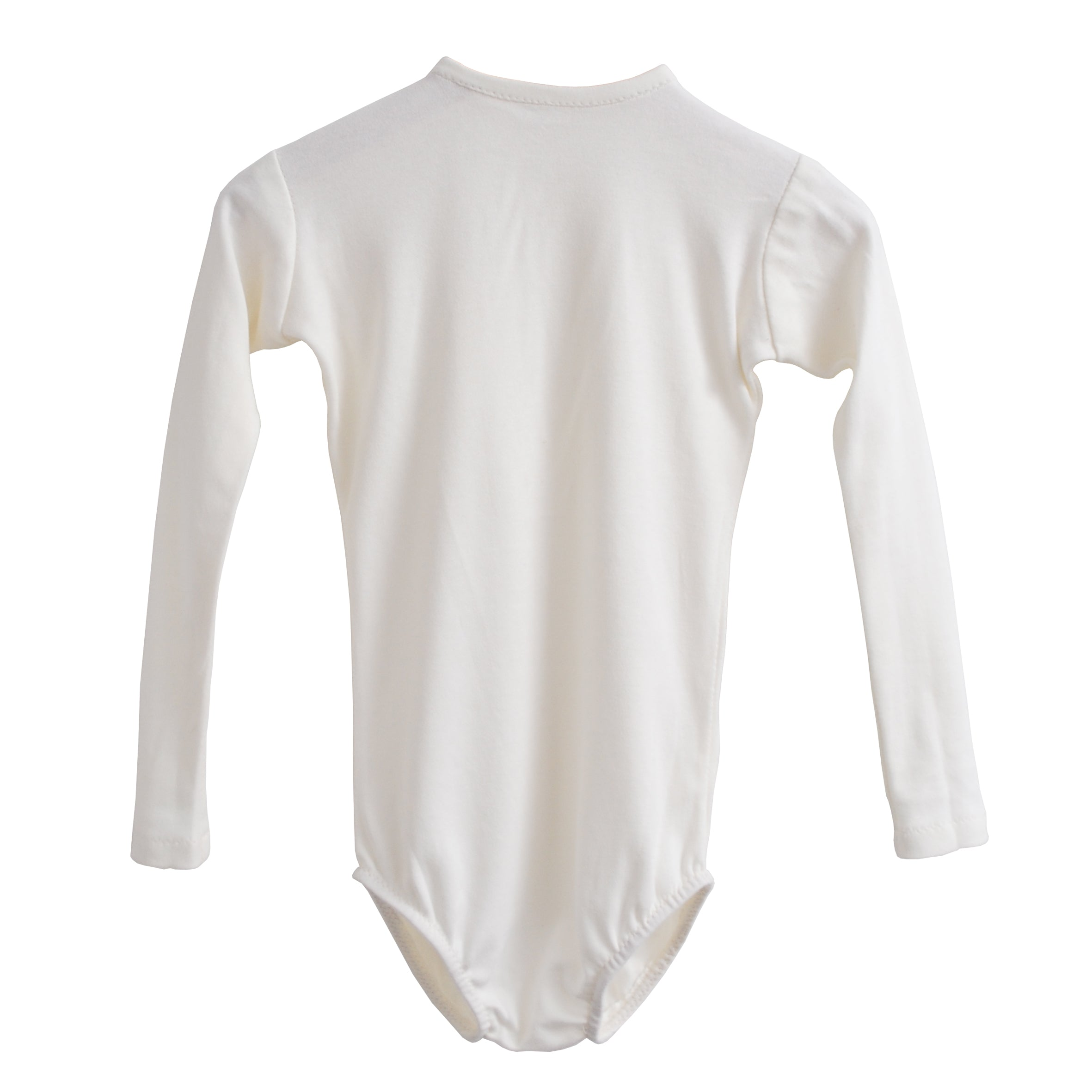 Fable Heart Cream Jersey Leotard