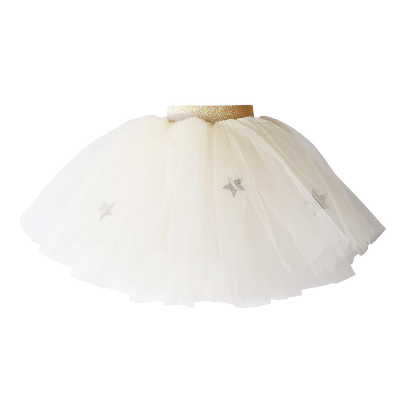 Cream Moon & Stars Tutu (Short)