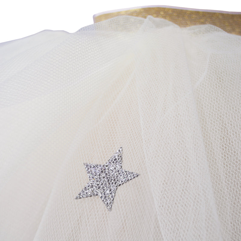Cream Moon & Stars Tutu (Short)_detail