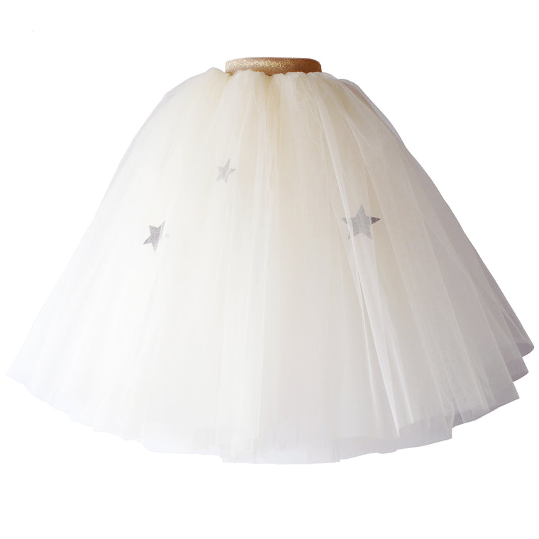 Cream Moon & Stars Tutu (Full)