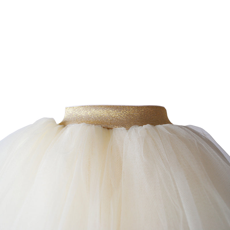 Plain Cream Tutu (Full) (Sample)