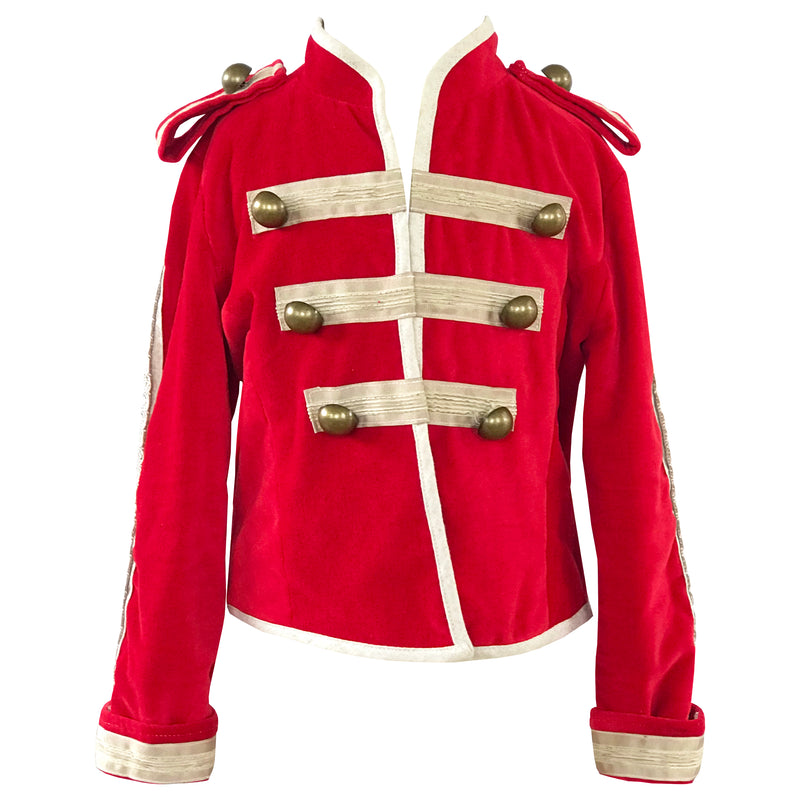 Fable Heart Ringmaster Jacket front
