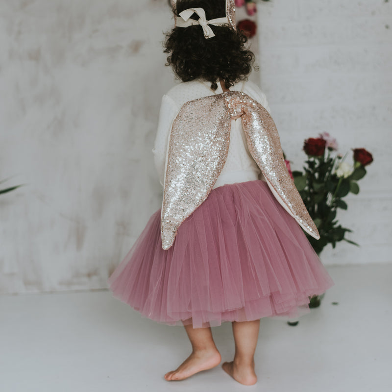 Fable Heart Rose Gold Wings lifestyle image 1