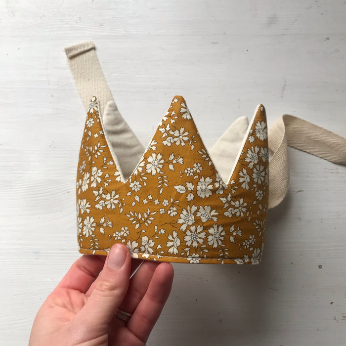 Liberty Capel Mustard Crown
