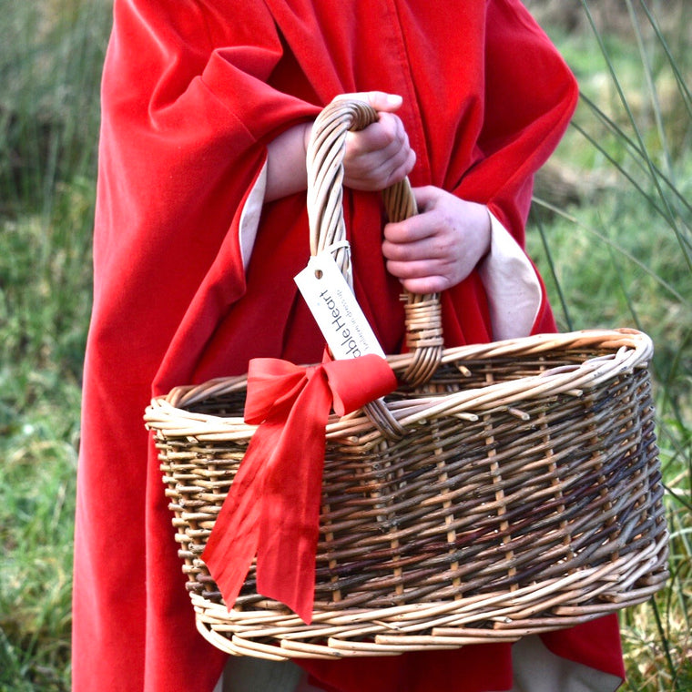Little Red Cape & Basket Set