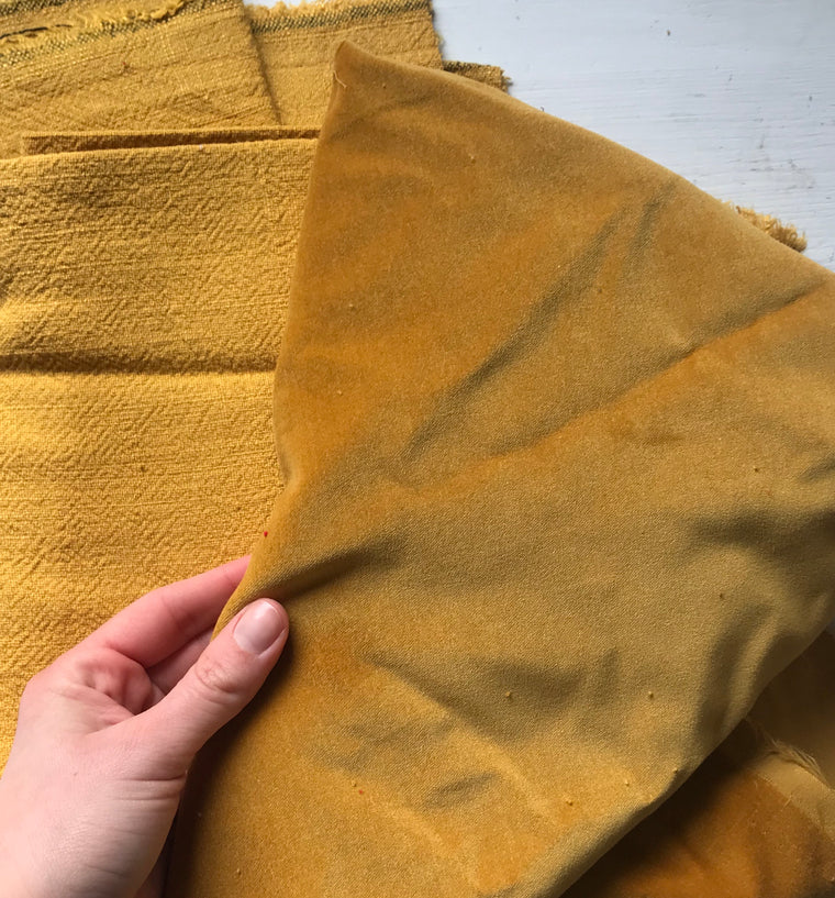 Mustard Fabric Bundle