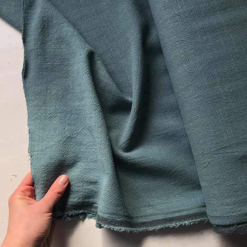 Teal Irish Linen Bolt