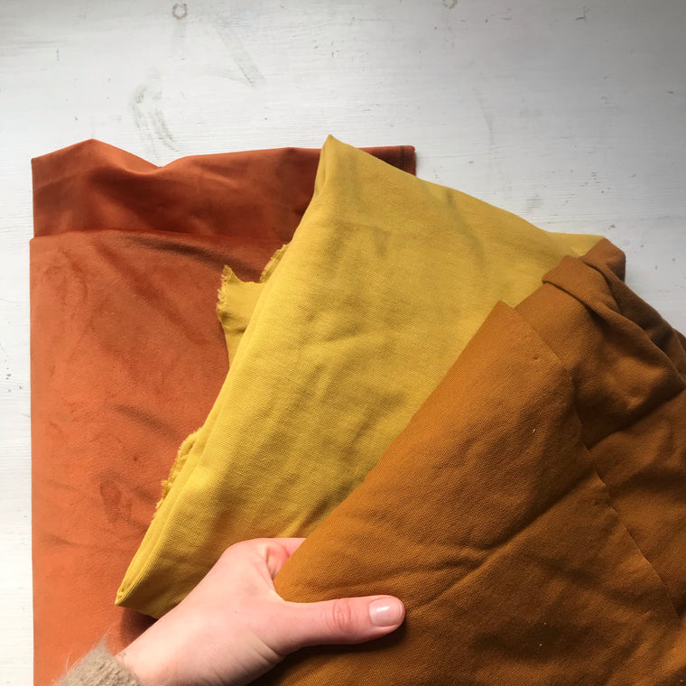 Rust/ Mustard Fabric Bundle