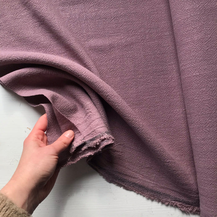 Mauve Irish Linen Bolt