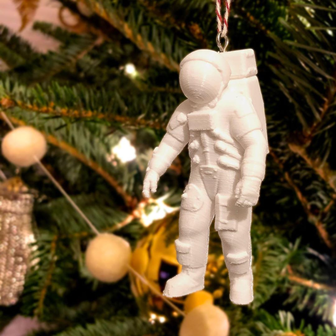 3D Printed Apollo Ornament