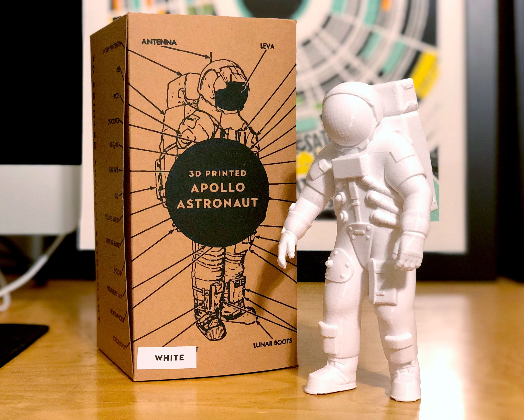 3D Printed Apollo Astronaut
