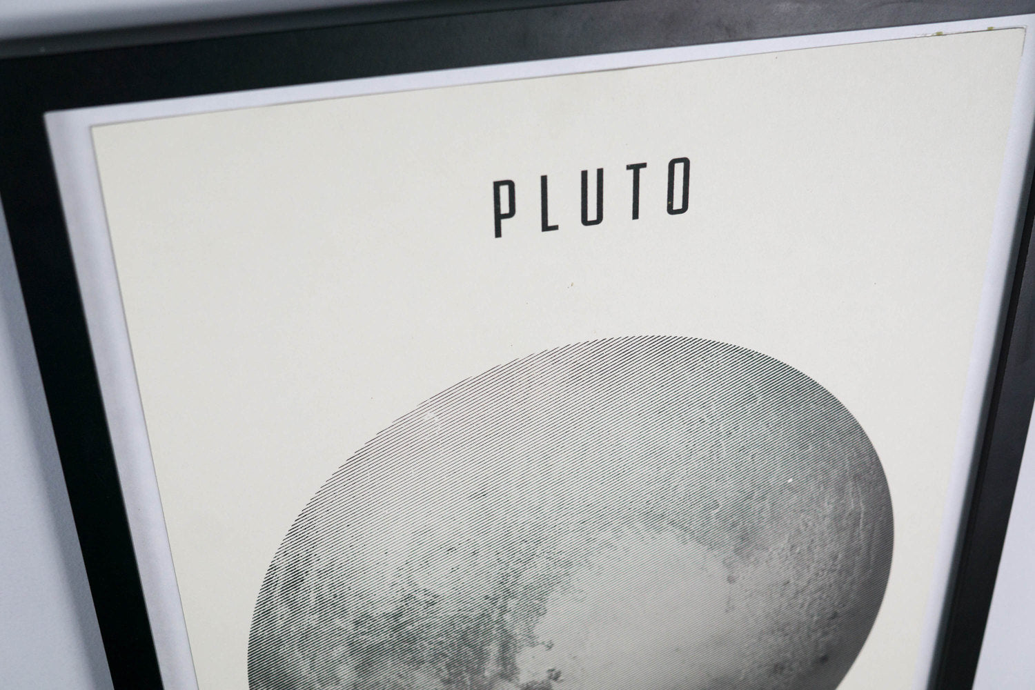 Ex-Planet Pluto Poster