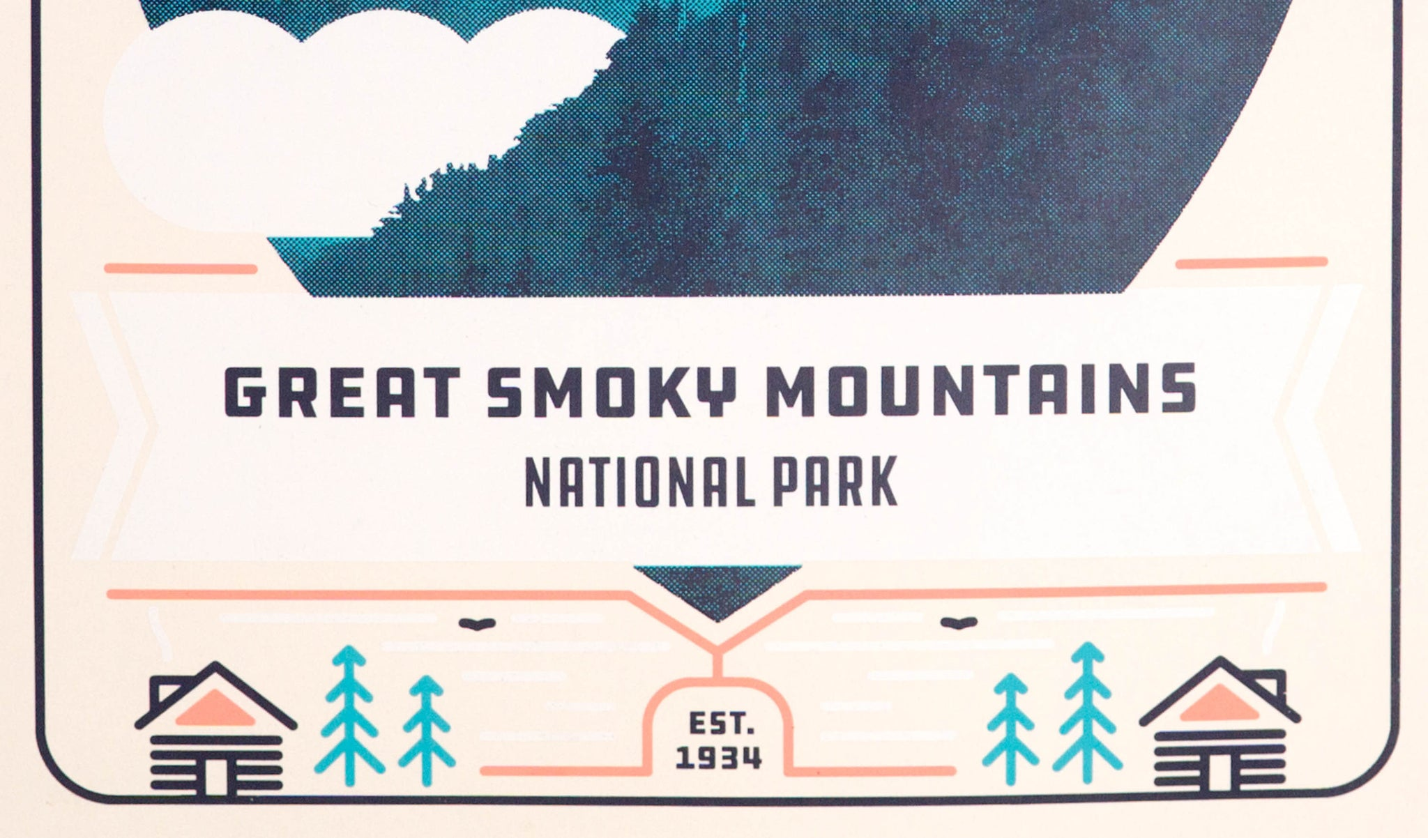 Great Smoky Mountain National Park Poster