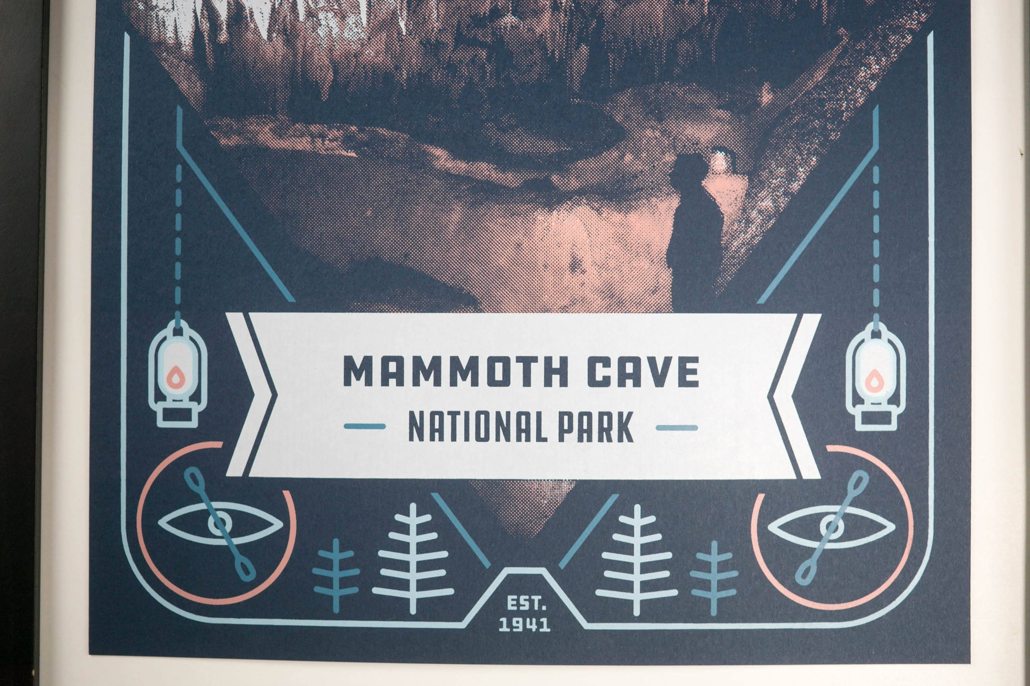 Mammoth Caves National Park Poster