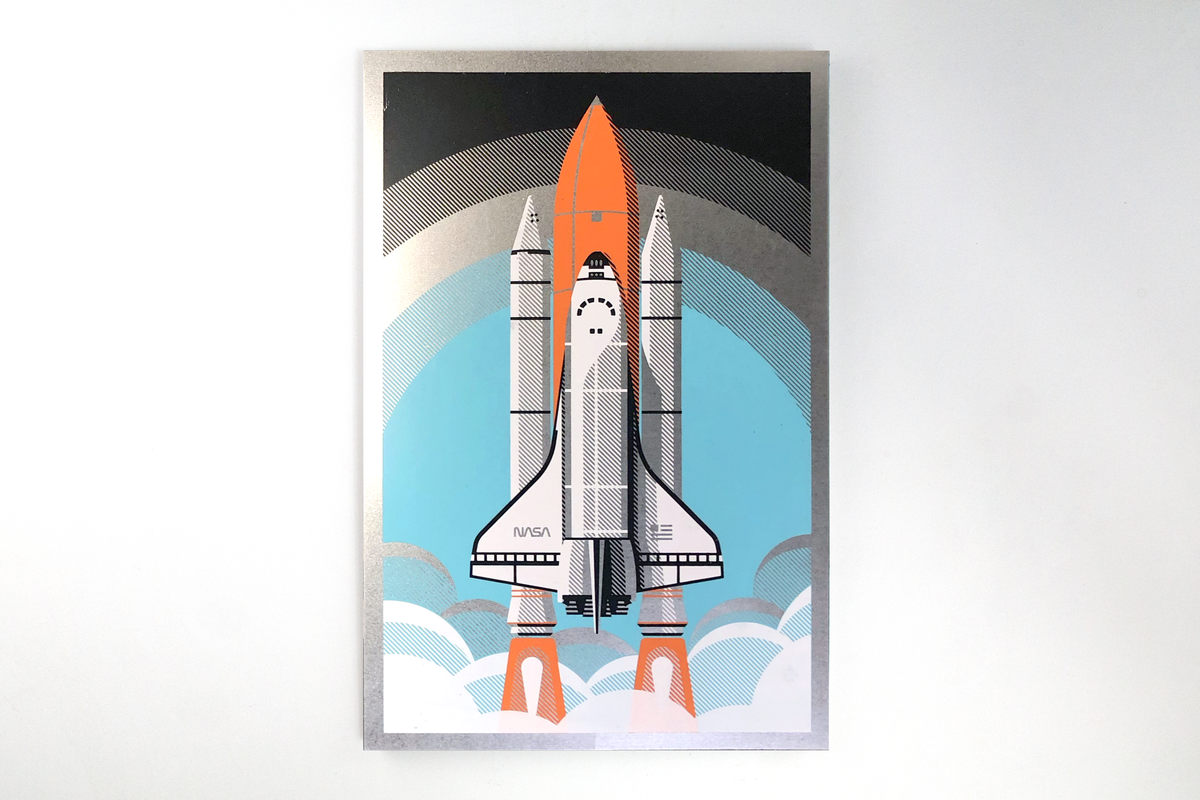 Space Shuttle on Sheet Metal