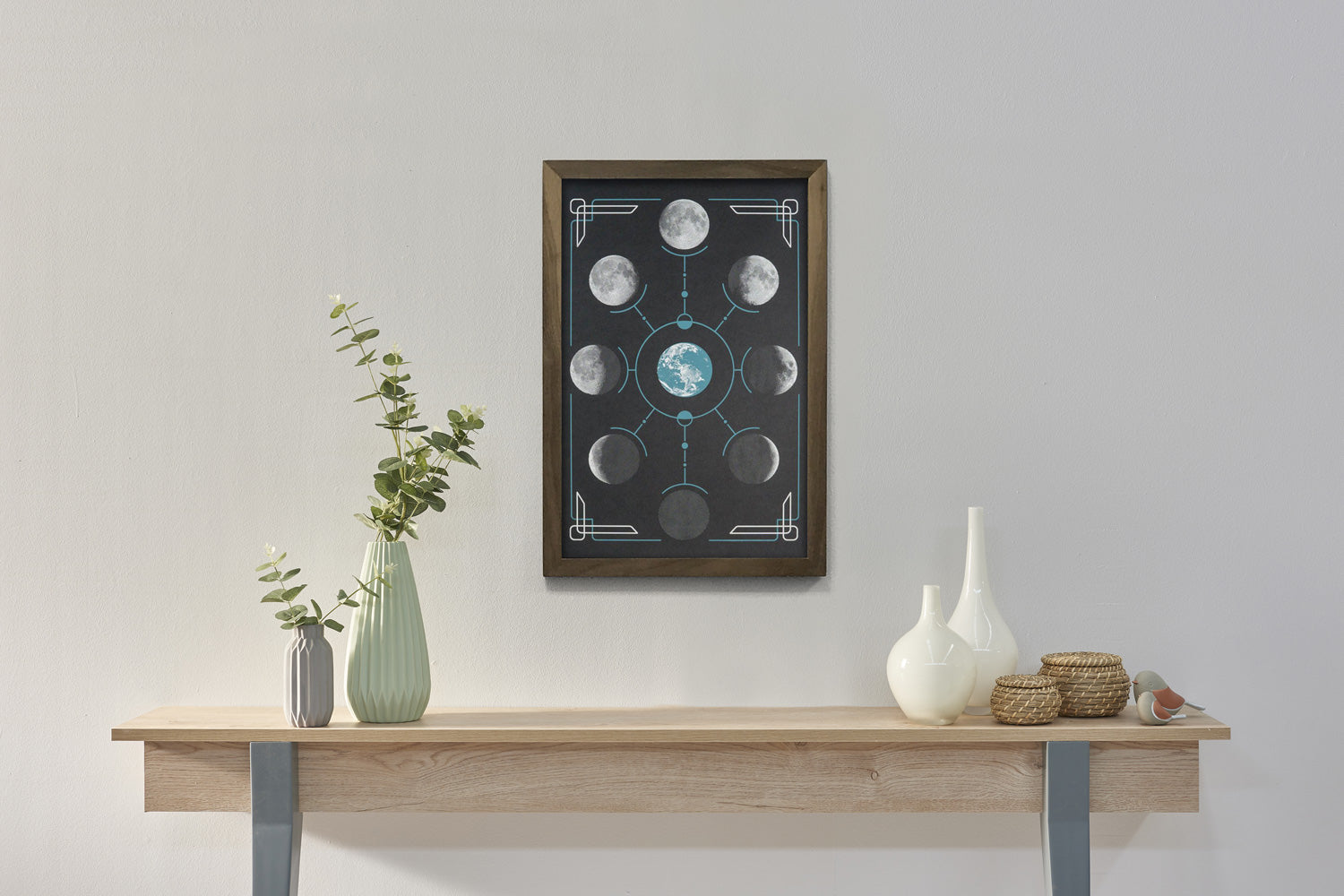 Lunar Phases - Science Poster