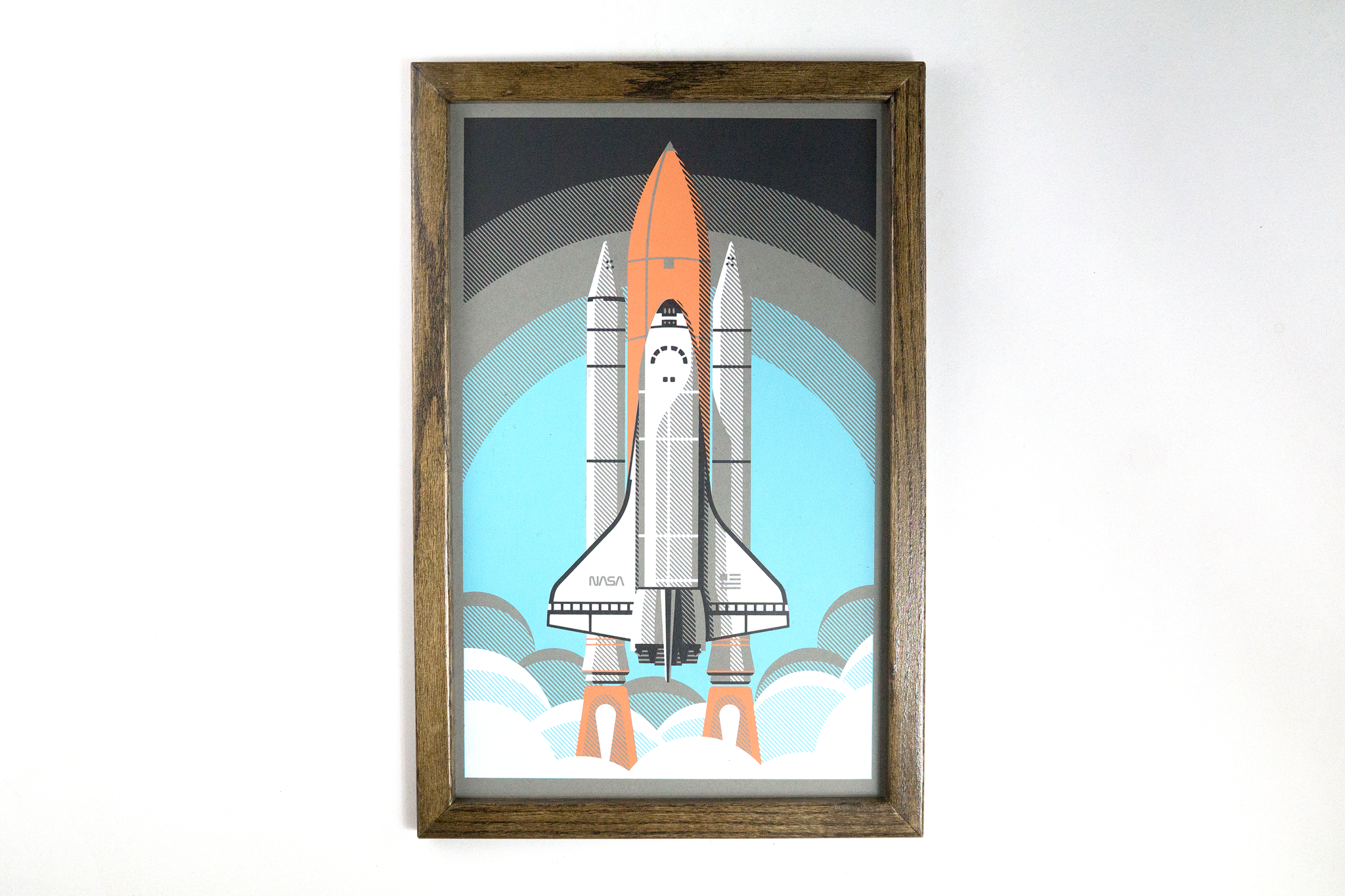 Space Shuttle on Paper