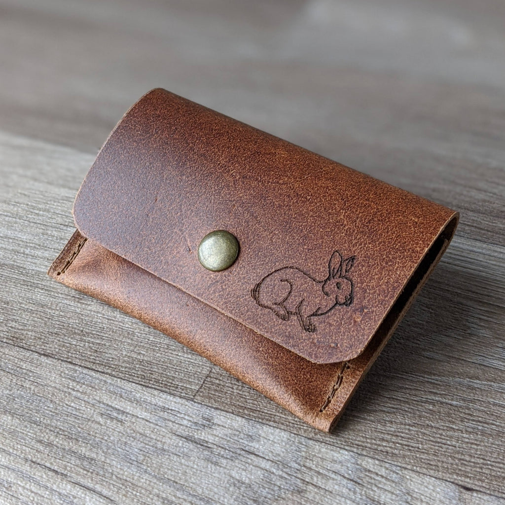 * BACK IN STOCK * rabbit themed leather gifts and accessories