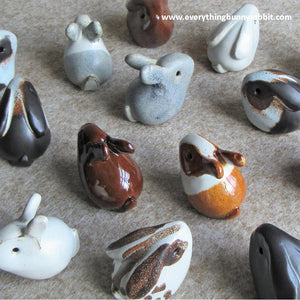 * BACK IN STOCK * - RABBIT ORNAMENTS