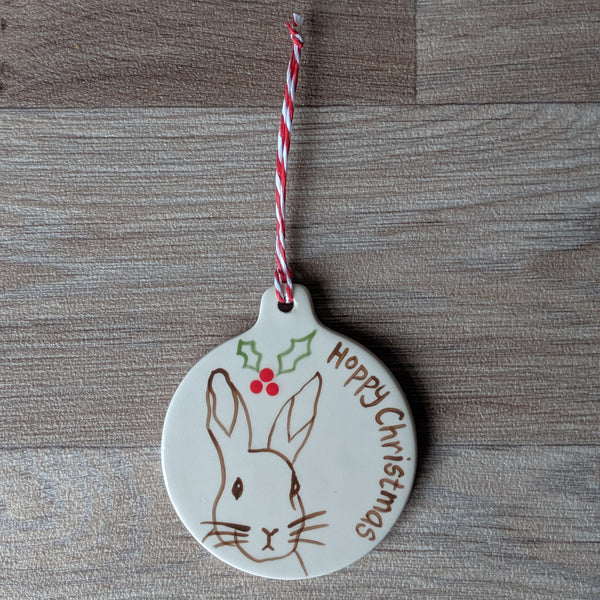 Rabbit Christmas Decoration | Everything Bunny Rabbit